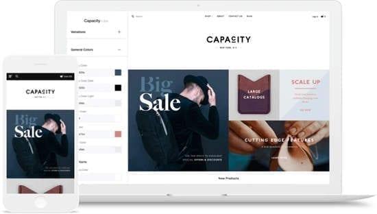 Site pour créer un site internet BigCommerce