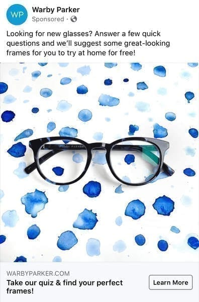 Unique selling proposition Warby Parker