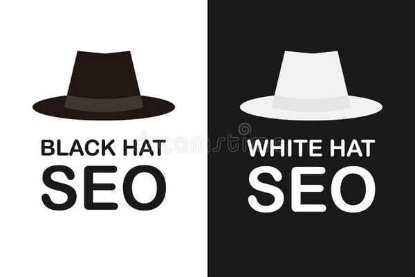 SEO white hat contre SEO black hat
