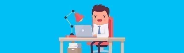 travailler à partir d'un ordinateur