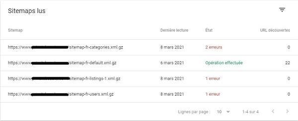 Les étapes à suivre pour consulter les sitemaps de la search console de Google