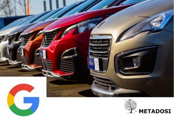 Google teste ses propres listes d'annonces automobiles dans la recherche