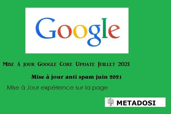 Google déploie une mise à jour de base et lutte contre le spam